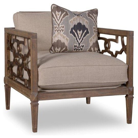 A r t marni wood trim matching chair driftwood for Matching lounge furniture