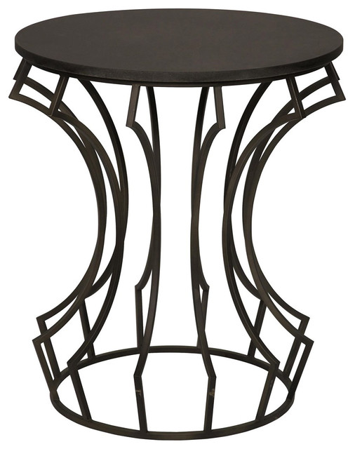 Noir Furniture Bardot Side Table Contemporary Side Tables End Tables By Greatfurnituredeal