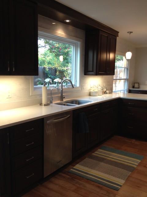 rangel kitchen in diamond cabinets - modern - kitchen - other metro -randy stein (lowe's
