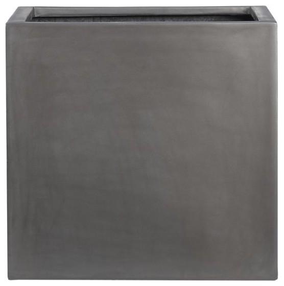 grey fiberstone large planter bauhaus look blumenk bel. Black Bedroom Furniture Sets. Home Design Ideas