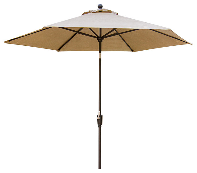 Table Umbrella For The Traditions Outdoor Dining Collection Transitional