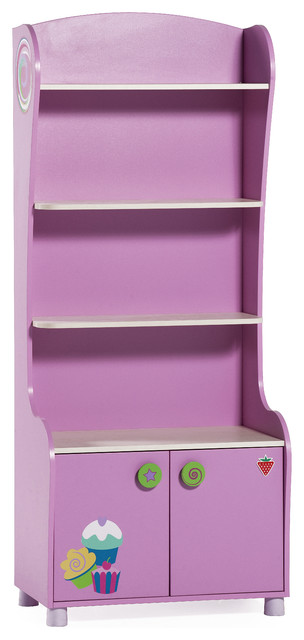 Cupcake Bookcase - Modern - Kids Bookcases - by Turbo Beds