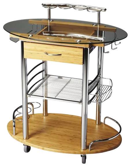 Kalla Modern Bar Cart Contemporary Bar Carts By
