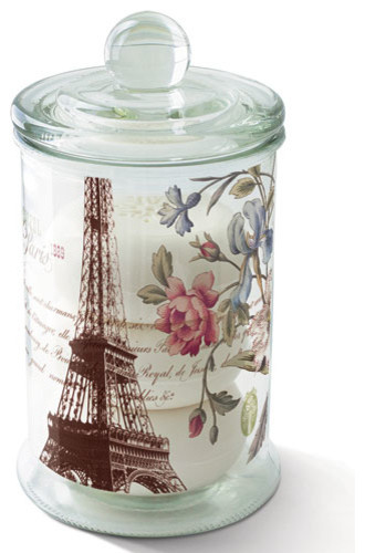 La Tour Eiffel Soaps in Apothecary Jar - Traditional - Bathroom Canisters - by Elizabeth's ...