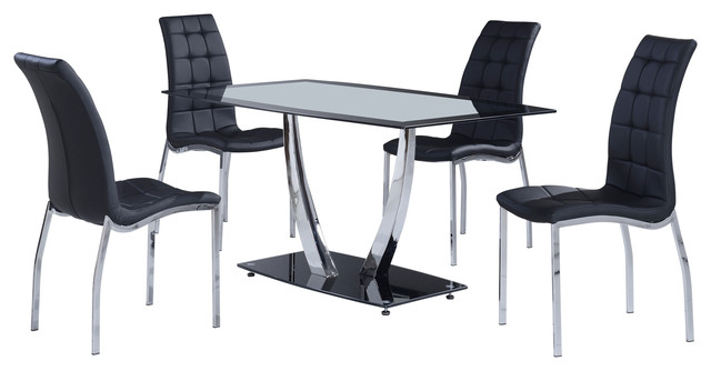 Global Furniture Dining Table Black Contemporary Dining Tables