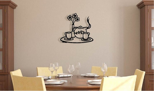 teapot tray 3d metal wall art wall sculpture home