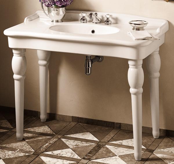 sonnet petite console lavatory porcher