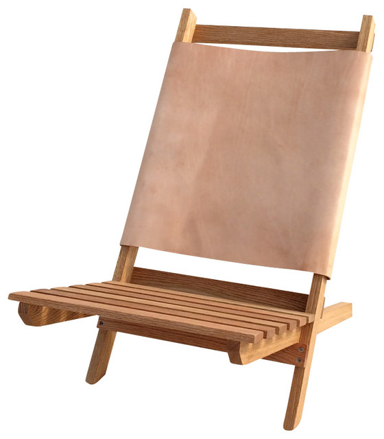 Camp Chair Traditional Outdoor Lounge Chairs by Post