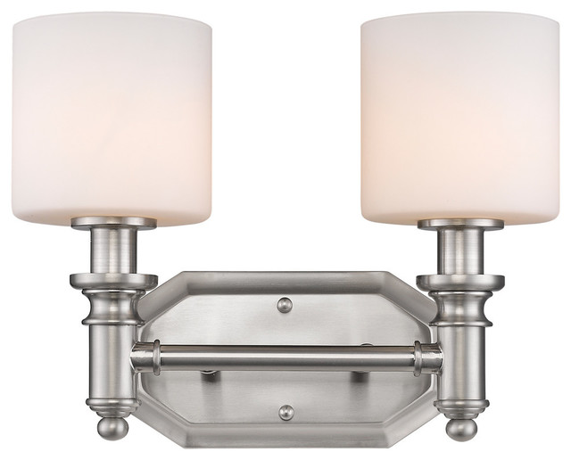 Pewter 2 Light Bath Vanity Bathroom Wall Lights By Elite Fixtures