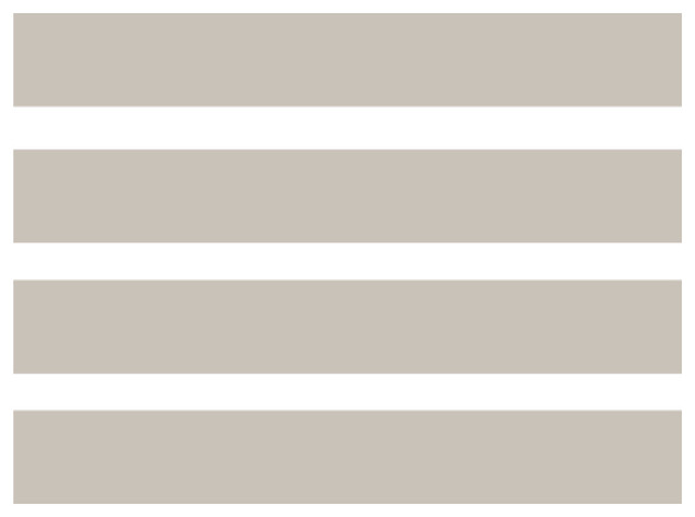 Wall Stripes Pattern, Set of 4, Light Gray, Medium - Contemporary - Wall Decals - by Dana Decals