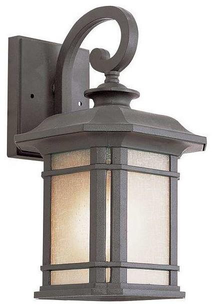 Trans Globe Lighting PL 5820 BK Outdoor Wall Light In