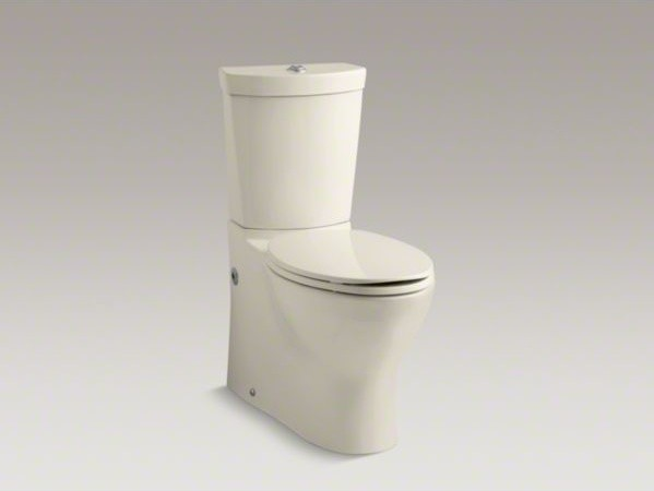 Kohler Persuade R Skirted Two Piece Elongated Dual Flush