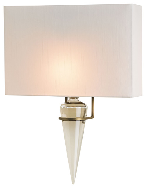 Wall Sconces Transitional : Larsen Wall Sconce - Transitional - Wall Sconces - by Currey & Company, Inc.