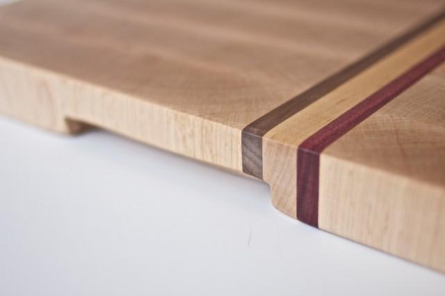 Medium Hard Maple End Grain Cutting Board Modern