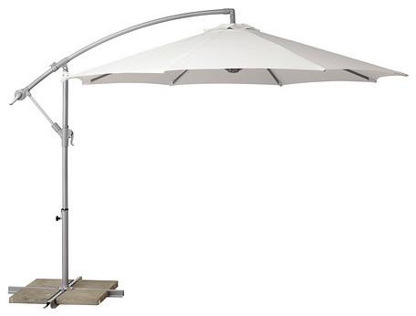 Bagg n parasol hanging contemporary outdoor umbrellas for Ikea cantilever umbrella