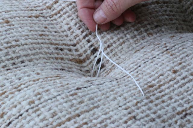 how to fix my sofa cushions