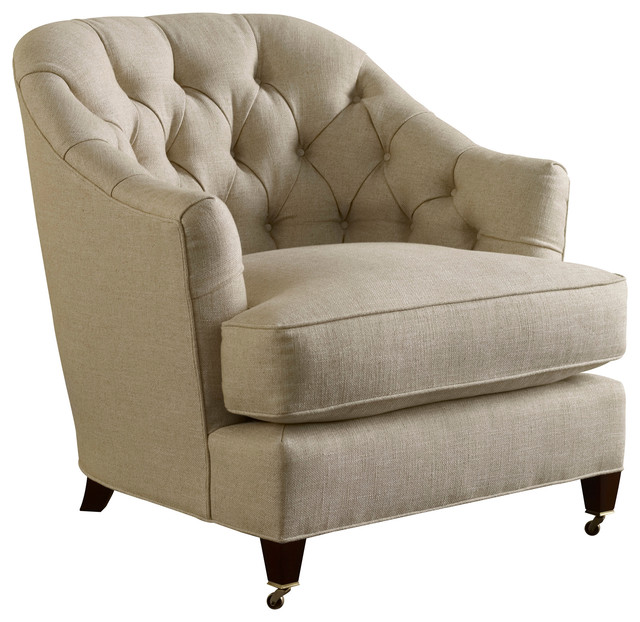 Windsor lounge chair baker furniture for White comfy chair