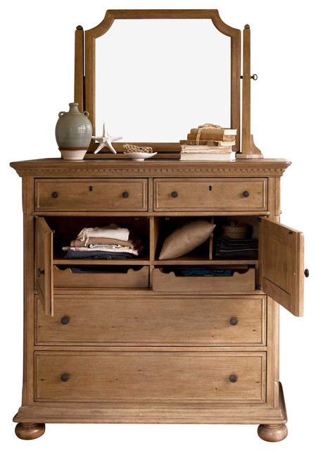 Universal Furniture Paula Deen Down Home Dressing Chest In Oatmeal Dressers By Bedroom