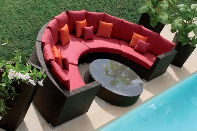 red patio furniture 2