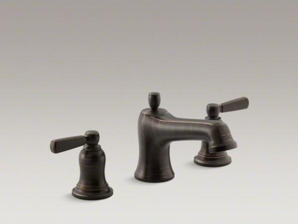 KOHLER Bancroft R Bath Faucet Trim For Deck Mount Valve With Diverter Spout