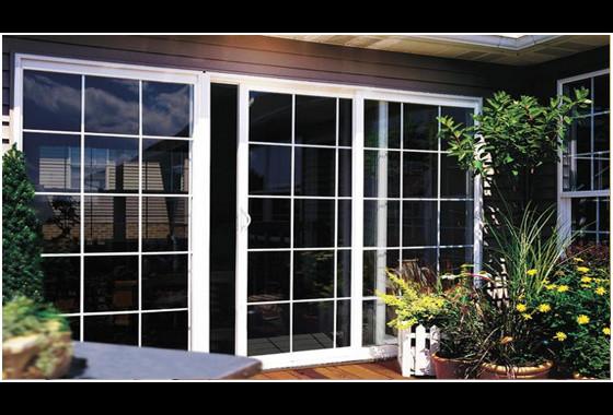 Vinyl Sliding Glass Doors Modern Screen Doors Other Metro By Xo Windows