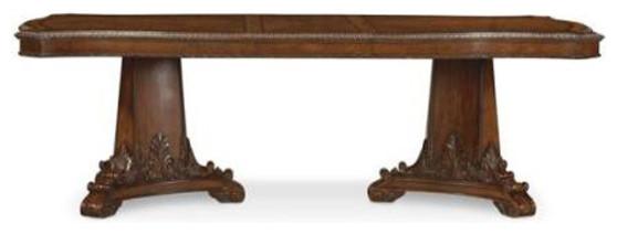 ART Furniture Old World Double Pedestal Dining Table ART43221 Furniture
