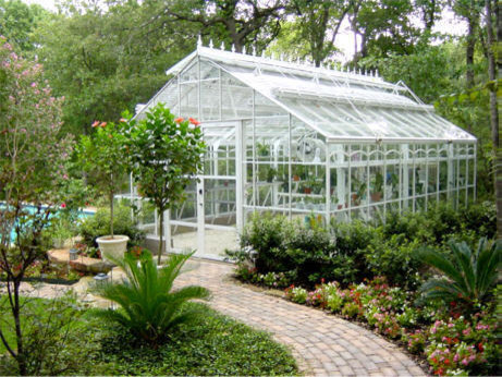 Traditional classic greenhouse design greenhouses for Garden greenhouse designs
