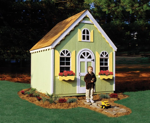 playhouse for kids traditional sheds other metro by backyard