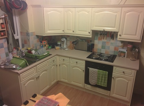 Low Cost Kitchen Makeover