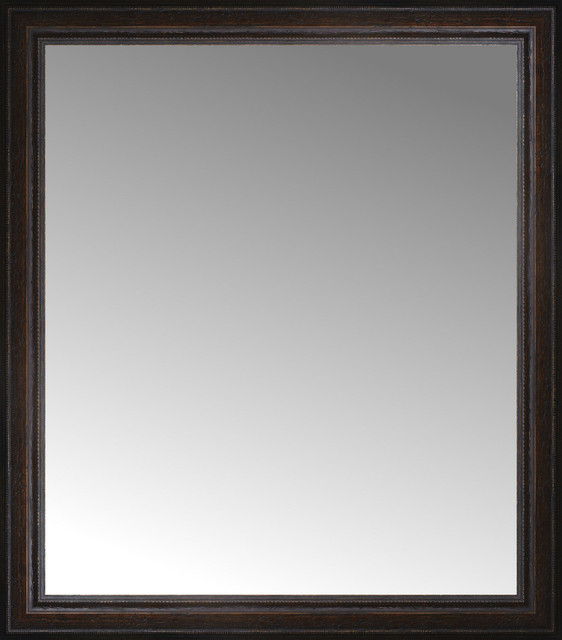 29 x 33 tuscany embossed custom framed mirror for Custom framed mirrors