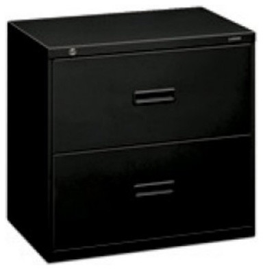 Basyx by HON 400 Series 2-Drawer Lateral Filing Cabinet ...