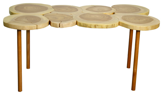 Art Coffee Table Natural Contemporary Kids Tables And Chairs By New Pacific Direct Inc