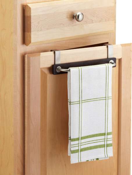 formbu overcabinet towel bar contemporary by the container store