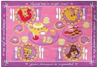 Princess Tea Party Interactive Game Rug Contemporary