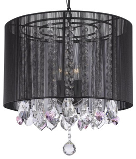 Foyerentryway Wrought Iron Chandelier With Shades