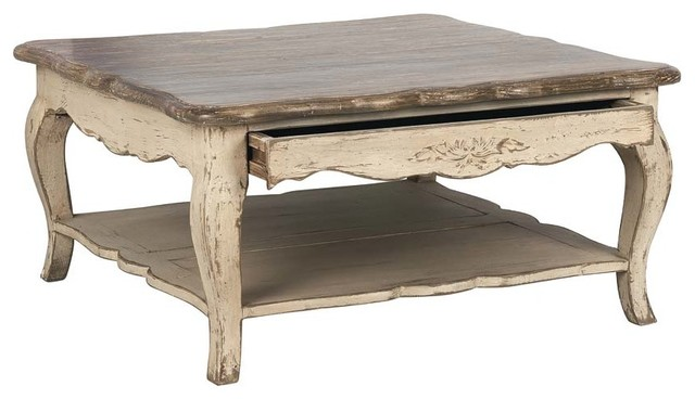 Table basse carr e modern coffee tables by interior 39 s - Table basse carree verre ...