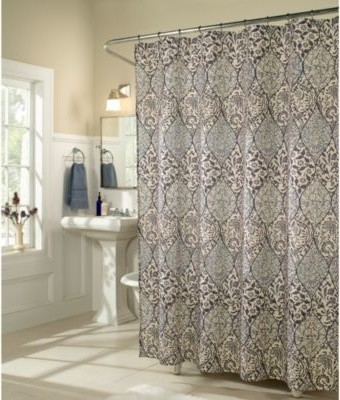 M Style Istanbul Shower Curtain Contemporary Shower Curtains By Bed Ba