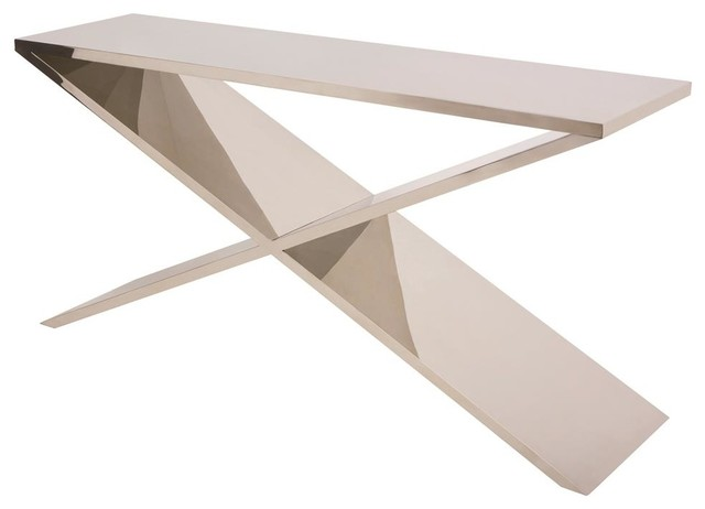 Plywood Console Table ~ Plywood console table modern tables by