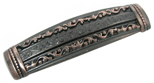 """3"""" Sante Fe Trail Pull - Venetian Bronze - Traditional - Cabinet And Drawer Handle Pulls - by Laurey"""