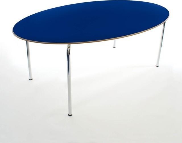Maui tisch oval modern dining tables by for Esstisch 200x90