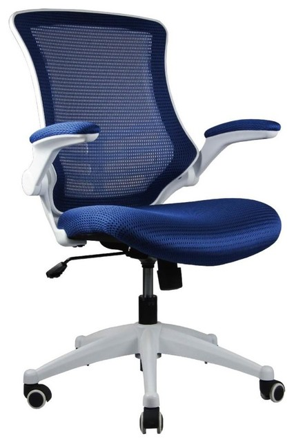 Office chair in royal blue single contemporary office chairs by