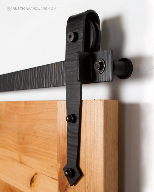 Hammered Arrow Barn Door Hardware Modern Sliding Door Hardware