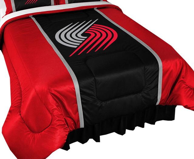 Nba Portland Trail Blazers Comforter Set Basketball