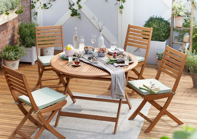 Aland Wooden Garden Furniture Traditional Outdoor Dining Sets South East By B Q
