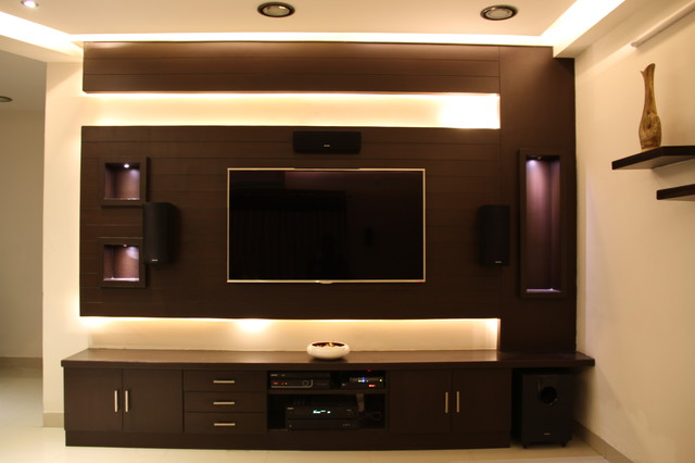 Pics for simple tv unit design for hall for Tv cabinet designs for hall