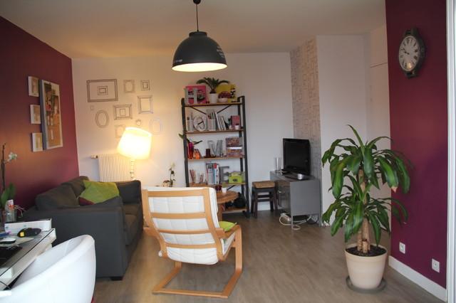 d coration d 39 un appartement de 50m cr teil. Black Bedroom Furniture Sets. Home Design Ideas