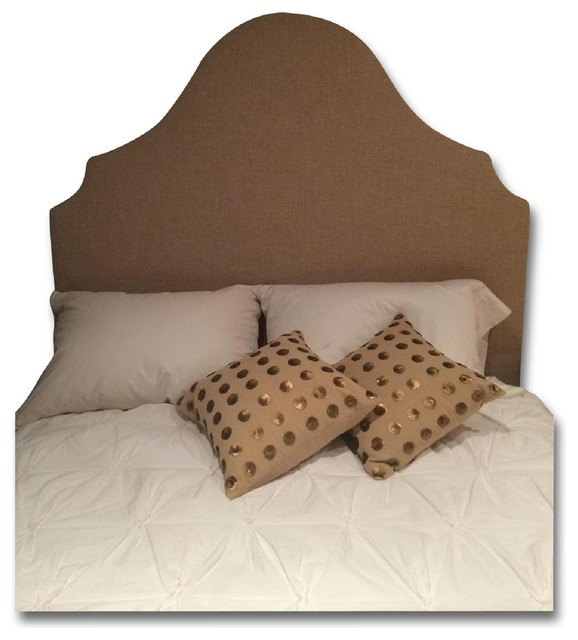 West Elm Full Princess Headboard And Chocolate Bedframe