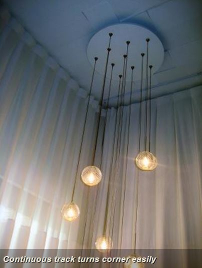 Bendable Curtain Rod - Industrial - Windows - Indianapolis - by Abda ...