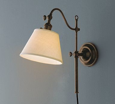 Wall Lamps Traditional : Adair Sconce, Bronze finish - Traditional - Wall Sconces - by Pottery Barn