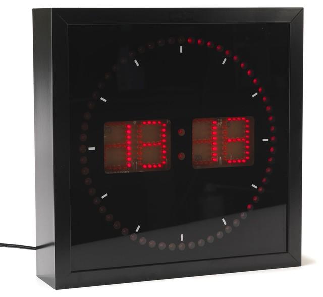 led horloge murale contemporain horloge murale par alin a mobilier d co. Black Bedroom Furniture Sets. Home Design Ideas